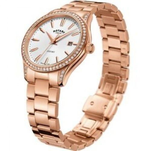 NEW ROTARY LADIES OXFORD WATCH LB05093 103